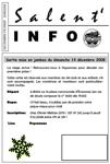 Salent'info décembre-février 2008/2009