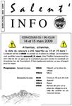 Salent'info mars-mai 2009
