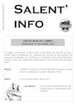 Salent'info décembre-février 2010/2011