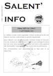 Salent'info juillet-septembre 2011